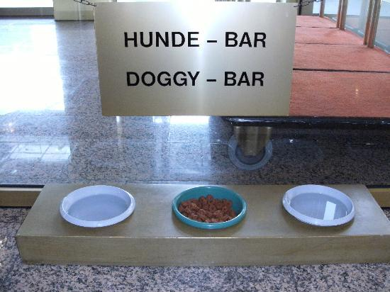 Holiday Inn Munich-Schwabing: Even dogs catered for