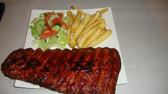 Antonis G Hotel Apartment: The rib portion