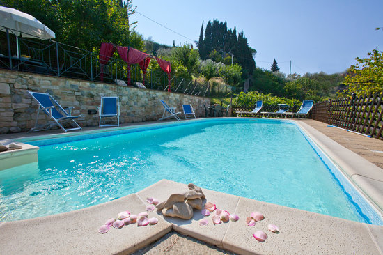 The Charming Villa Nuba Apartments: Villa Nuba  vacation rental in Umbria -  The new  eco pool with salt water