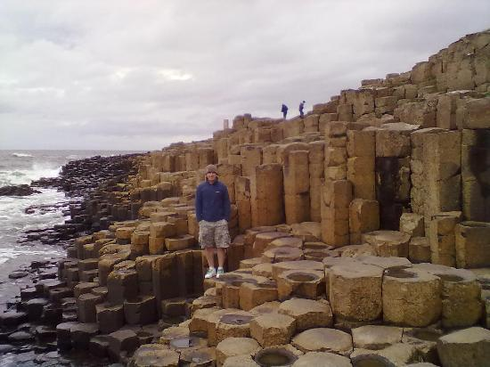 Белфаст, UK: Giants causeway