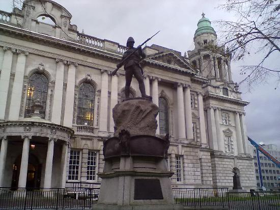 Белфаст, UK: City hall