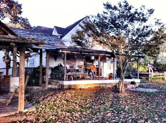 Seventy-four Ranch: Outside of Main House