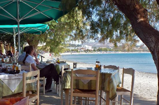 Morpheas Apartments: Plakias beach from the excellent Mouses restaurant