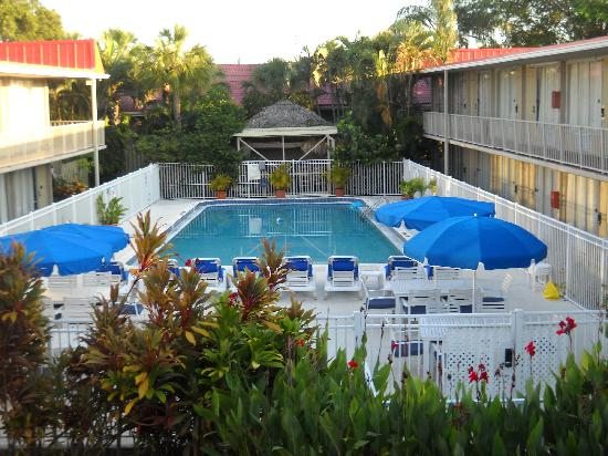 Clarion Inn: A room with a wonderful Florida feel