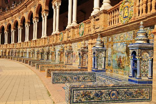 planet of 'Naboo' in Seville - Fictional movie locations