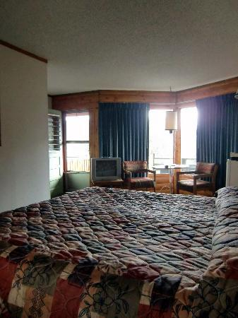 Discovery Lodge: roomy and comfortable