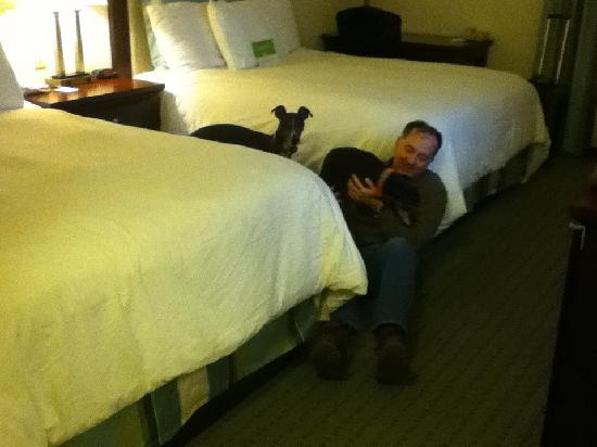 La Quinta Inn & Suites Loveland: Best dog-friendly hotel ever.