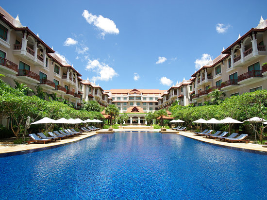 Sokha Angkor Resort: Salt-water Swimming Pool