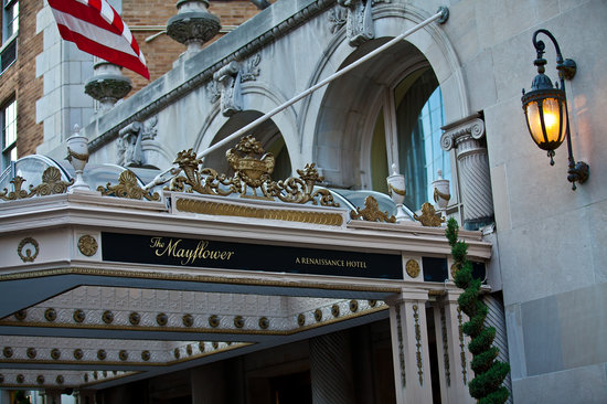 The Mayflower Renaissance Washington, DC Hotel is a 4 diamond hotel and proud member of Historic