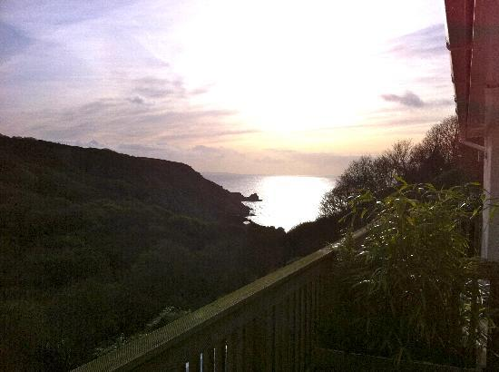 The Cove Cornwall: Watch the sun go down.