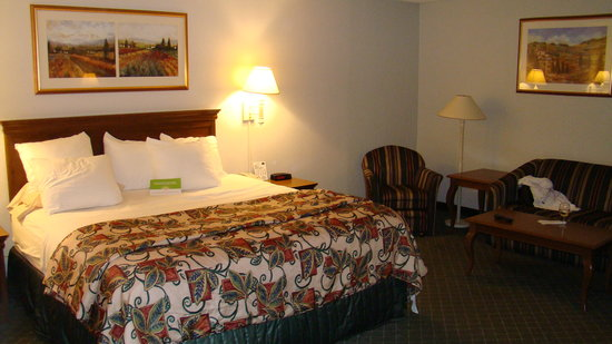 Hampton Inn Secaucus-Meadowlands: Our nice clean room in Secaucus