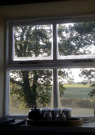 Gwaenynog: a view to wake up to!