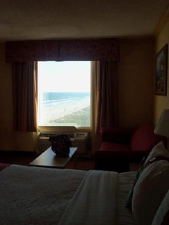 Holiday Inn Corpus Christi - N. Padre Island: 617 ROOM VIEW FROM THE BED. WAKING UP TO THIS? A+++
