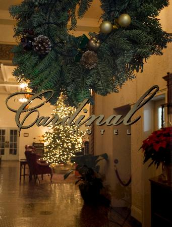 Cardinal Hotel: Christmas Welcome at the Cardinal