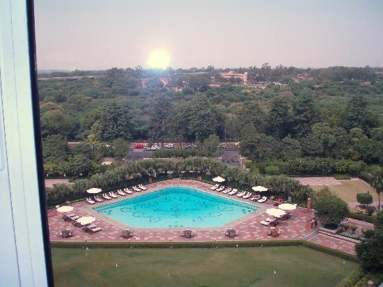 Taj Palace Hotel: View from room
