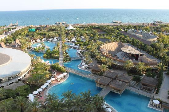 View from reception - Picture of Royal Wings Hotel, Antalya - TripAdvisor