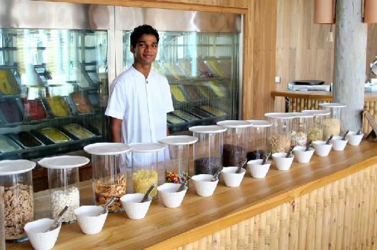 Olhuveli Island: Ice Cream Bar