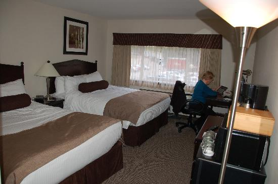 BEST WESTERN PLUS Baker Street Inn & Convention Centre: Double Room