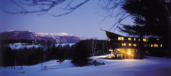 Stowehof Inn : View of Stowe Ski Trails
