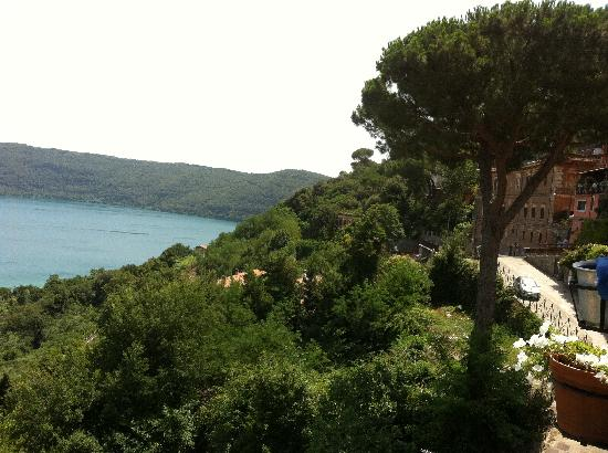 Castel Gandolfo, Italy: View from La Gardenias terrace