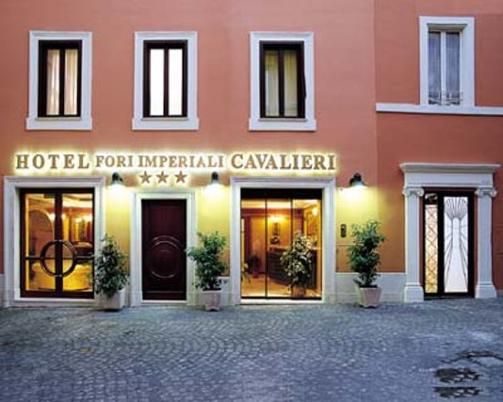 Hotel Fori Imperiali Cavalieri: Ingresso