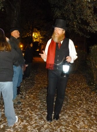 Winston Salem Ghost Tour