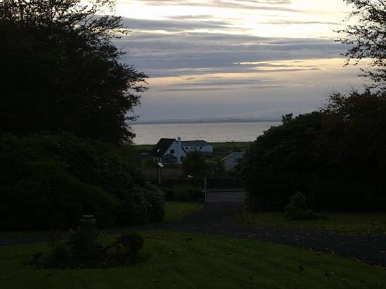 Blar Mhor B&amp;B: Evening view