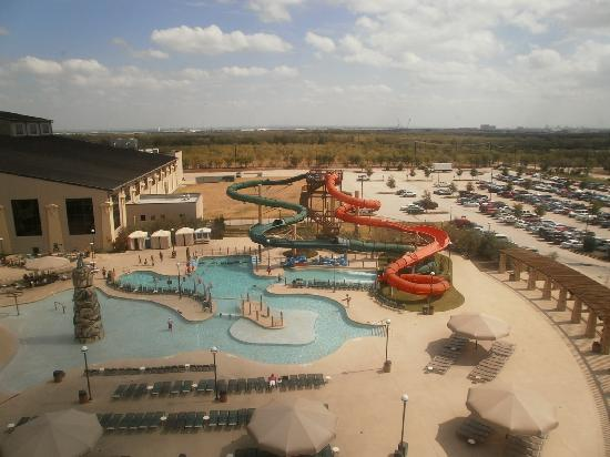 Great Wolf Lodge: View from 7th floor