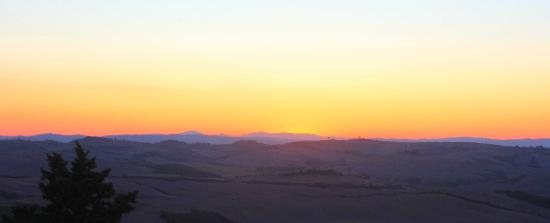 Podere Finerri: sunset