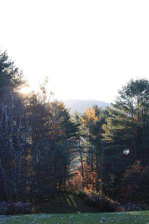 Barnet, VT: backyard sunrise