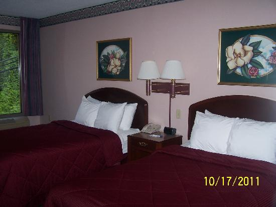 Our room at the Comfort Inn, Grundy, VA