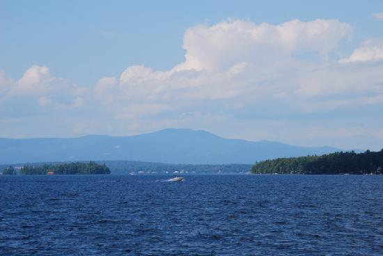 Gilford, NH: view from the porch