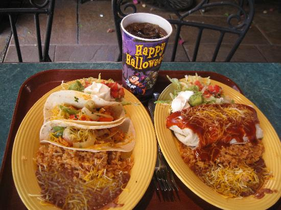 ... taco platters - Picture of Rancho del Zocalo - Disneyland, Anaheim