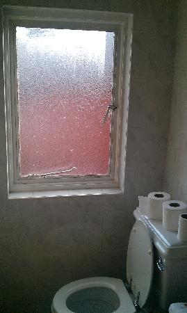 Victoria Apartments: grubby & dirty window