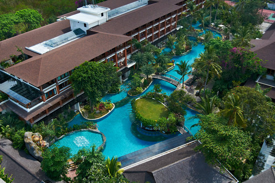 Padma Resort Bali at Legian: LAGOON POOL