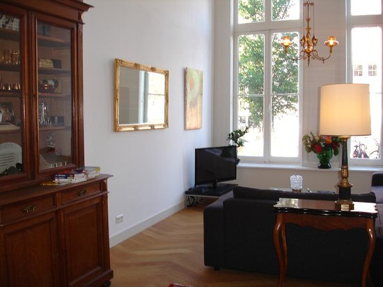 Heren Bed & Breakfast Amsterdam: guest living room