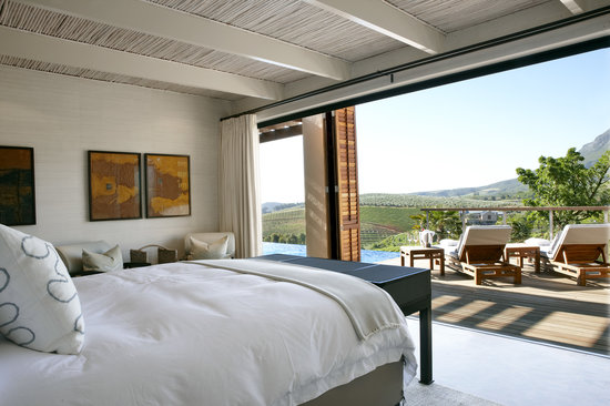 Delaire Graff Estate - Lodges and Spa: Lodge Bedroom