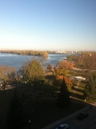 Radisson Hotel La Crosse: great view