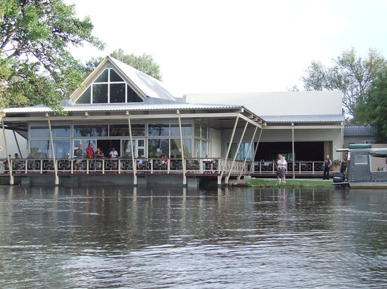 Protea Hotel Zambezi River Lodge: Mushabati Bar on the Zambezi River