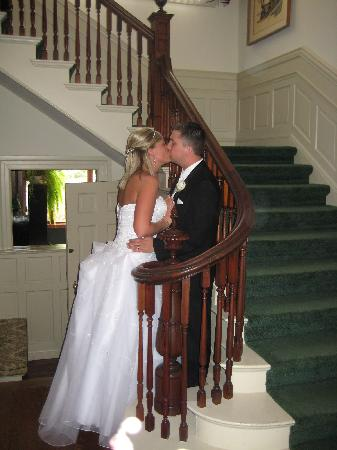 Chesny's Keswick Manor: A Place to Celebrate Life! And the Grand Stairway!