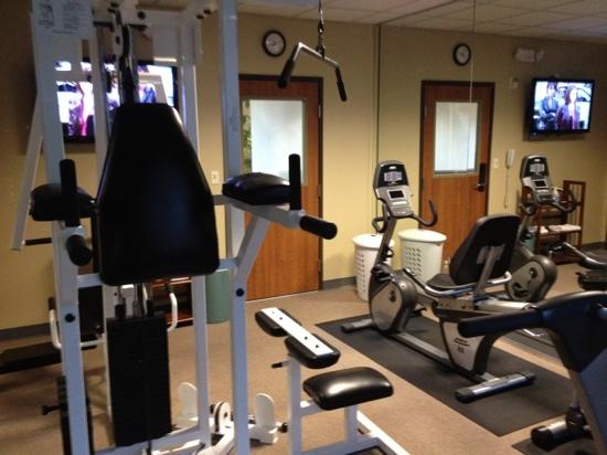 Wingate by Wyndham Bush Intercontinental Airport IAH : exercise room