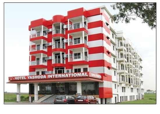Front Elevation Hotel : Hotel yashoda international tarapith west bengal