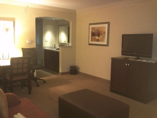 Embassy Suites by Hilton Tampa Brandon: living room
