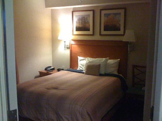 Candlewood Suites Glen Allen: Seperate bed room
