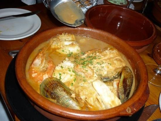 Thursford, UK: seafood casserole!