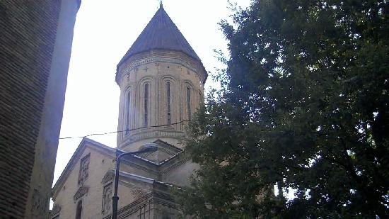 Тбилиси, Грузия: Jvaris Mama Church Tbilisi,Georgia