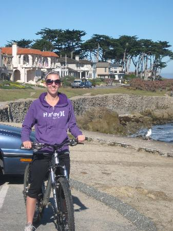 Monterey Peninsula, CA: Nice day for a bike ride