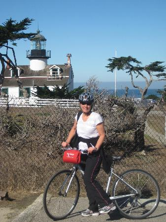 Monterey Peninsula, CA: Riding to the Light House