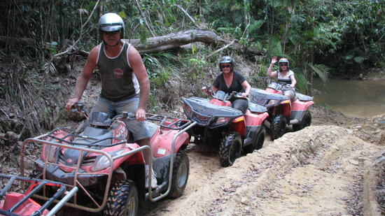 Down and Dirty Quad Bike Tours
