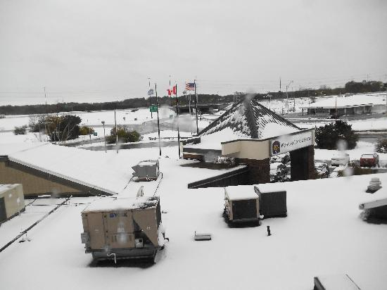BEST WESTERN PLUS Wynwood Hotel & Suites: View of the October snow on October 30